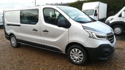 RENAULT TRAFIC III FG L2H1 1200 2.0 DCI 145CH ENERGY CABINE APPROFONDIE GRAND CONFORT GPS R-LINK