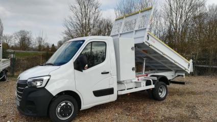 RENAULT MASTER III BENNE R3500RJ L3 2.3 DCI 165CH ENERGY + COFFRE GRAND CONFORT EUROVI
